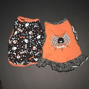 Simply dog Halloween dress and tank top. Size xs